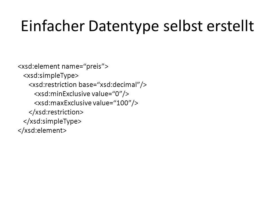 Komplexer Datentyp