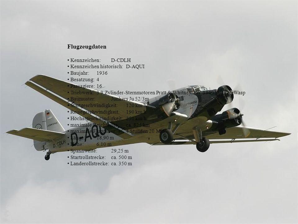 Herzstück der historischen Flotte der Deutschen Lufthansa Berlin-Stiftung ist die Ju 52. Bereits 1915 erprobte Hugo Junkers mit der Junkers J 1 das er