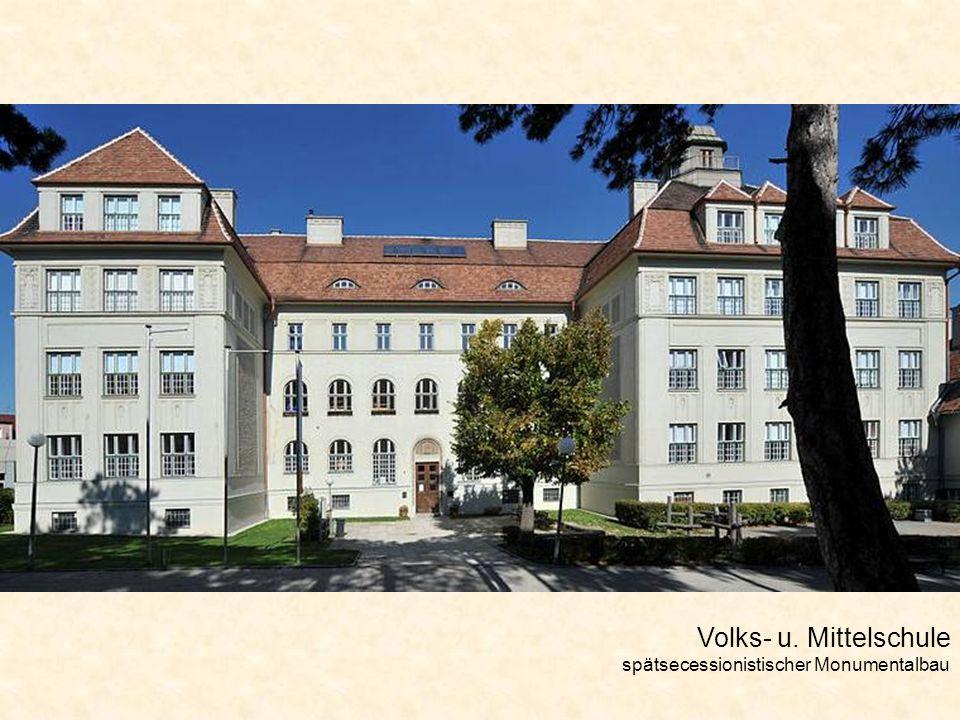 Hugo Wolf – Haus Die mehrmalige Anwesenheit des berühmten Komponisten verleiht dem Haus besondere kulturhistorische Bedeutung