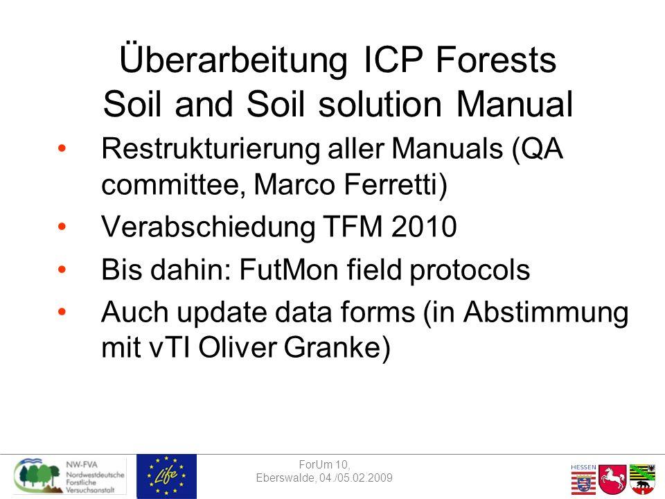 ForUm 10, Eberswalde, 04./05.02.2009 Abteilungsseminar 28.11.2008 Vielen Dank für die Aufmerksamkeit Und viel Spaß bei der Umsetzung