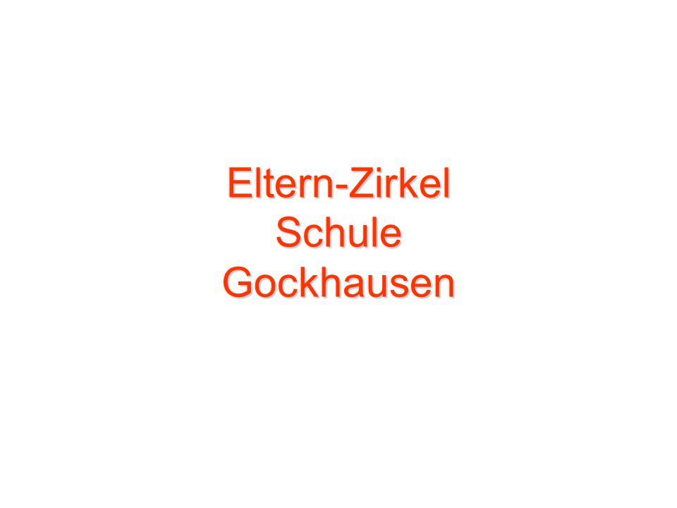 Eltern-Zirkel Schule Gockhausen
