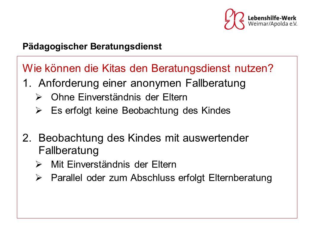 Pädagogischer Beratungsdienst 3.