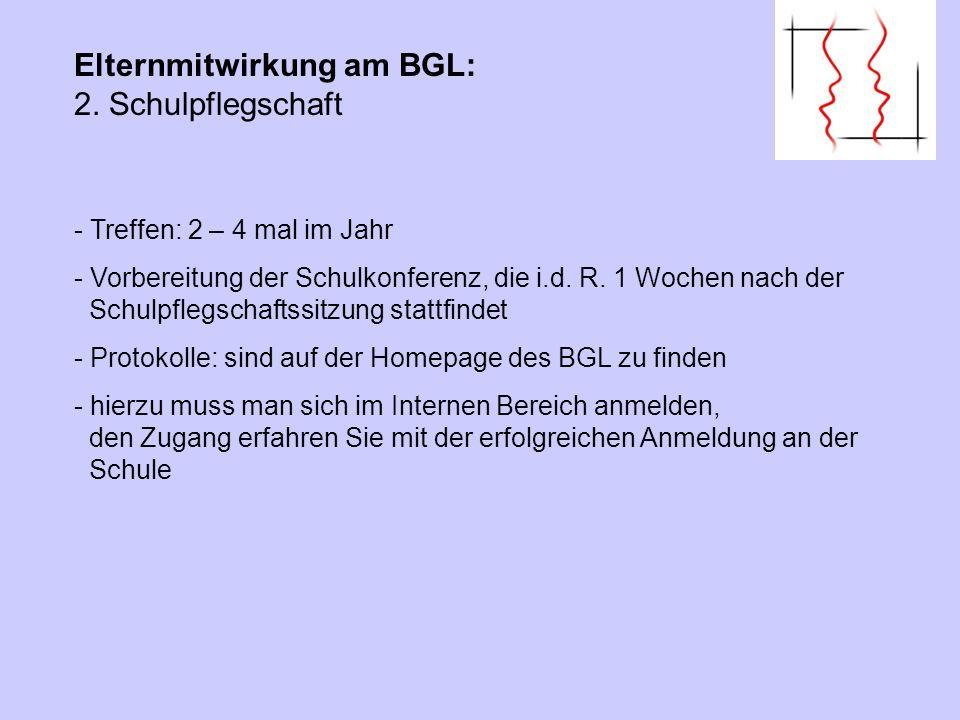 Elternmitwirkung am BGL: 8.Förderverein(e) Ohne finanzielle Förderung läuft es nicht.