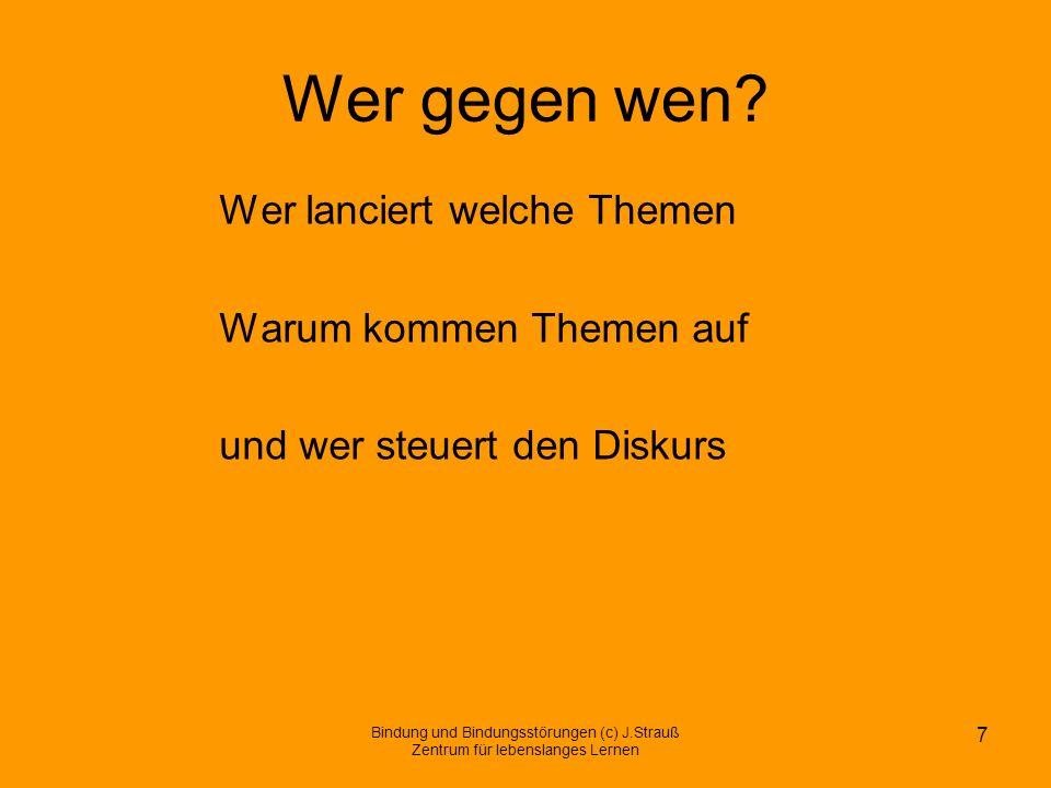 Ein deutsches Thema.