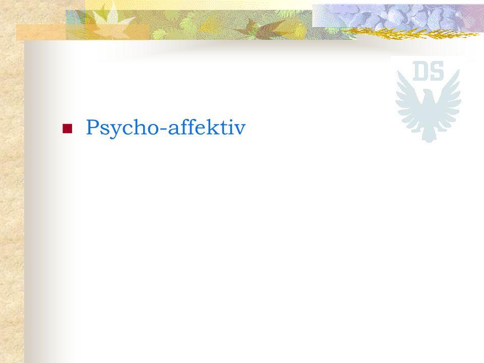 Psycho-affektiv
