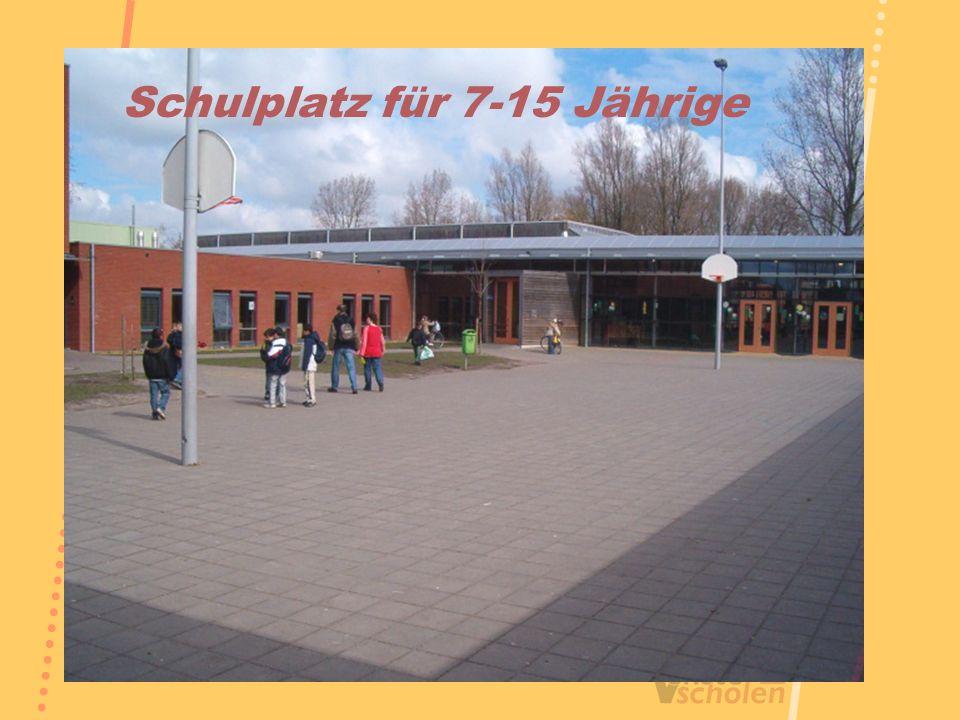Schulplatz für 7-15 Jährige