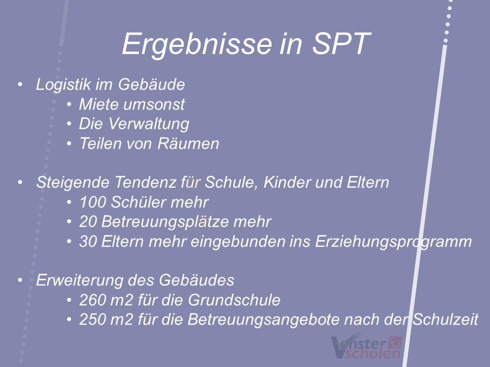 Ergebnisse in SPT Logistik im Gebäude Miete umsonst Die Verwaltung Teilen von Räumen Steigende Tendenz für Schule, Kinder und Eltern 100 Schüler mehr