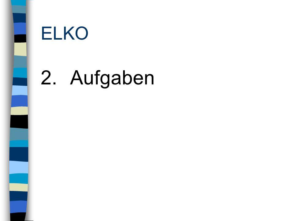 ELKO 2.Aufgaben