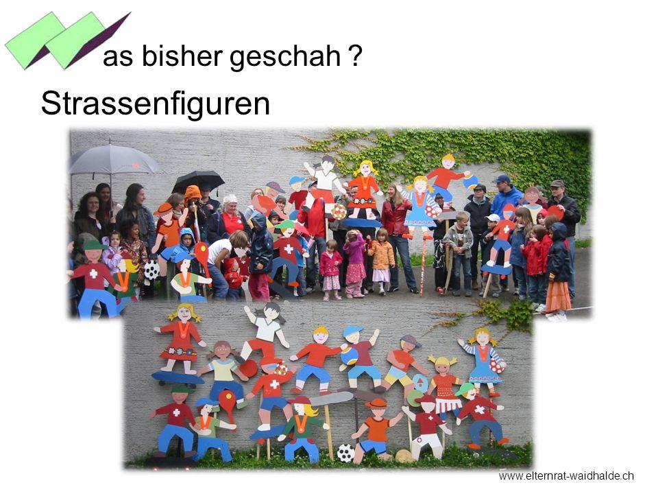 www.elternrat-waidhalde.ch as bisher geschah ? Strassenfiguren