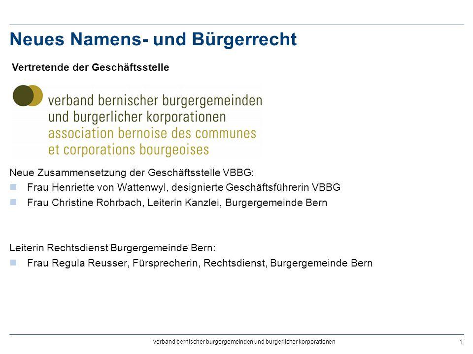 Neues Namens- und Bürgerrecht, Zivilstands- und Bürgerrechtsdienst22 Neues Namens- und Bürgerrecht 21.Eine Person hat ihr Burgerrecht vor 2013 erhalten.