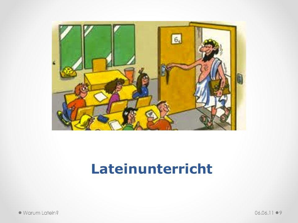 Lehrbuch actioLektionstext 06.06.11Warum Latein?10