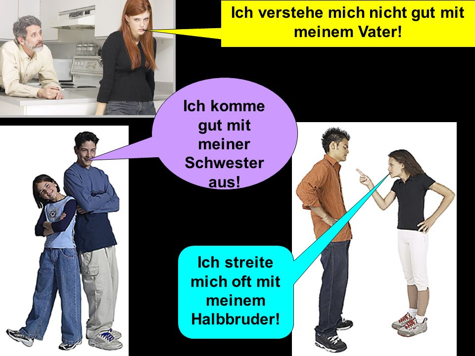 IchverstehemichgutmitmeinemBrudernicht (I dont get on well with my brother)