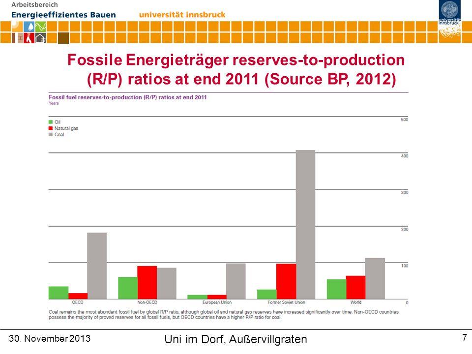 Solarthermische Wärmenutzung Innovative Energietechnologien in Österreich, Marktentwicklung 2013, BMVIT 30.