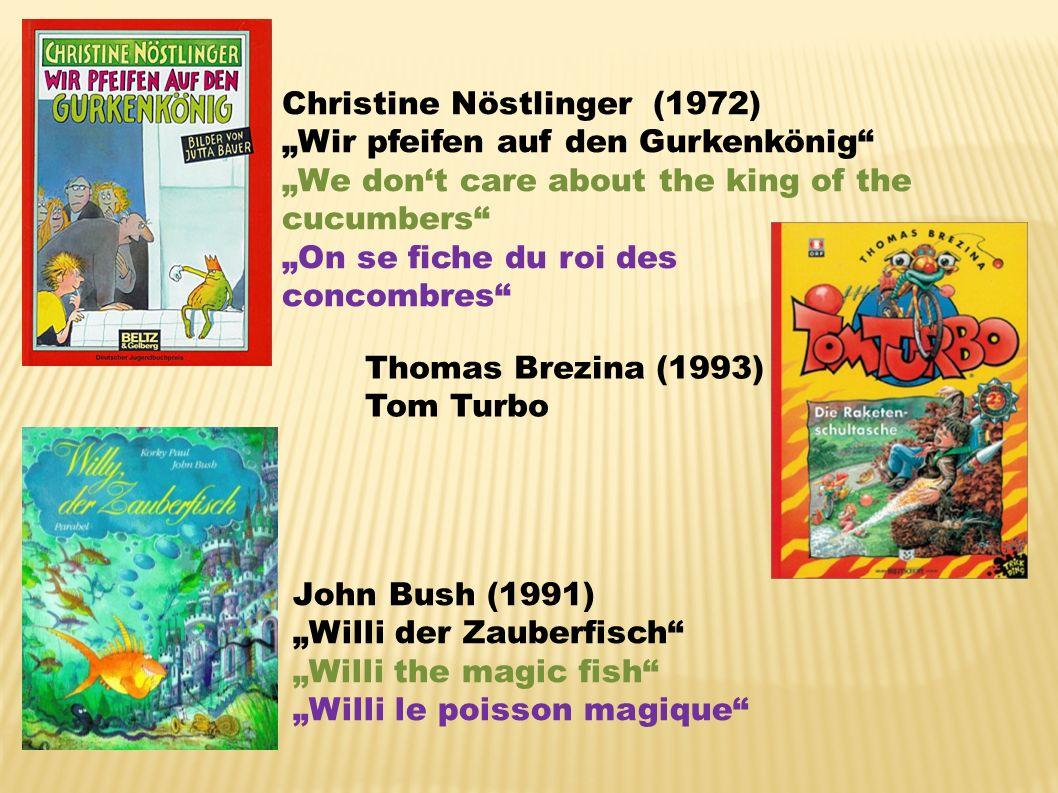ENTWICKLUNG DER KINDERLITERATUR EVOLUTION OF CHILDRENS LITERATURE EVOLUTION DE LA LITTÉRATURE JEUNESSE