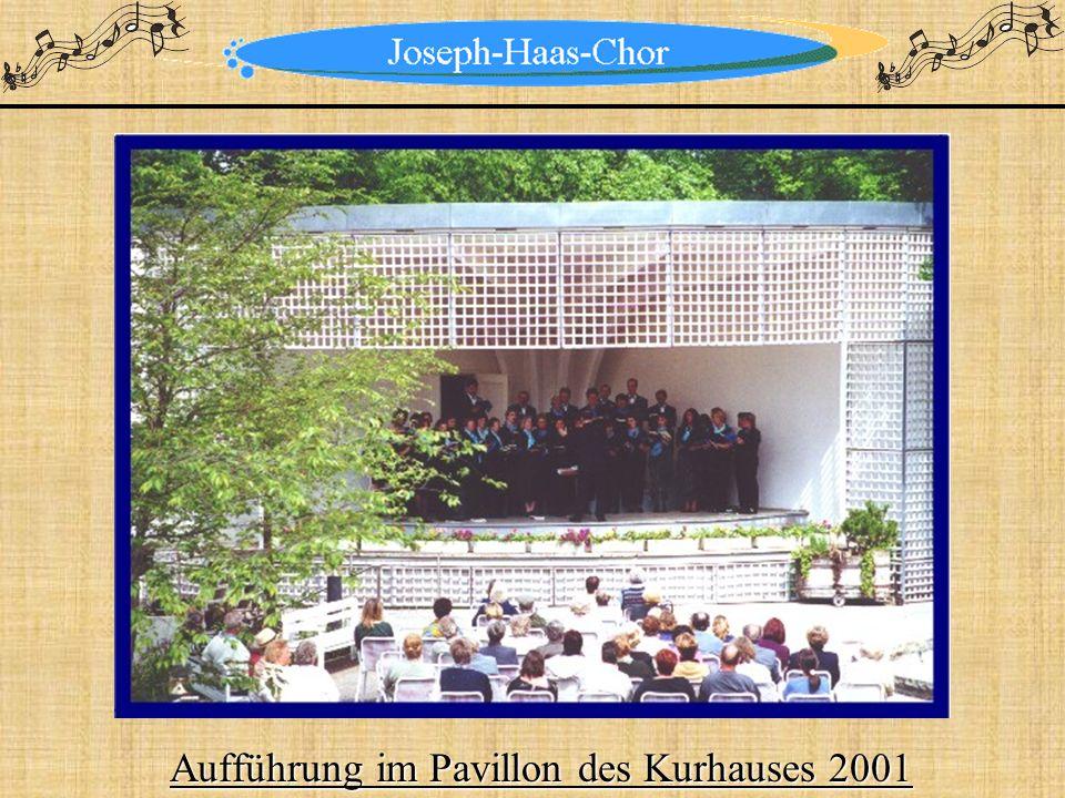 Aufführung im Pavillon des Kurhauses 2001