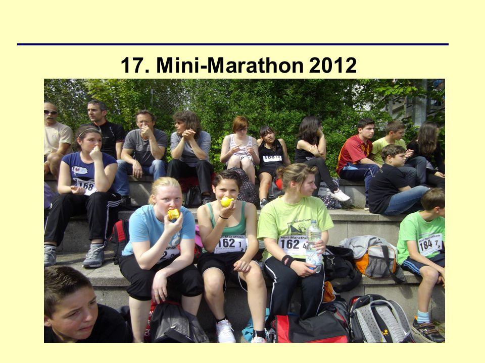 17. Mini-Marathon 2012
