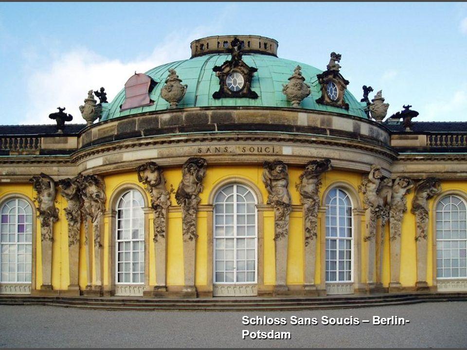 Schloss Sans Soucis – Berlin- Potsdam
