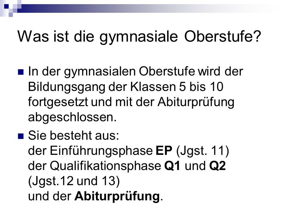 Klausurverpflichtung in der EP In folgenden Fächern müssen Klausuren geschrieben werden: D alle FS (In einer mod.
