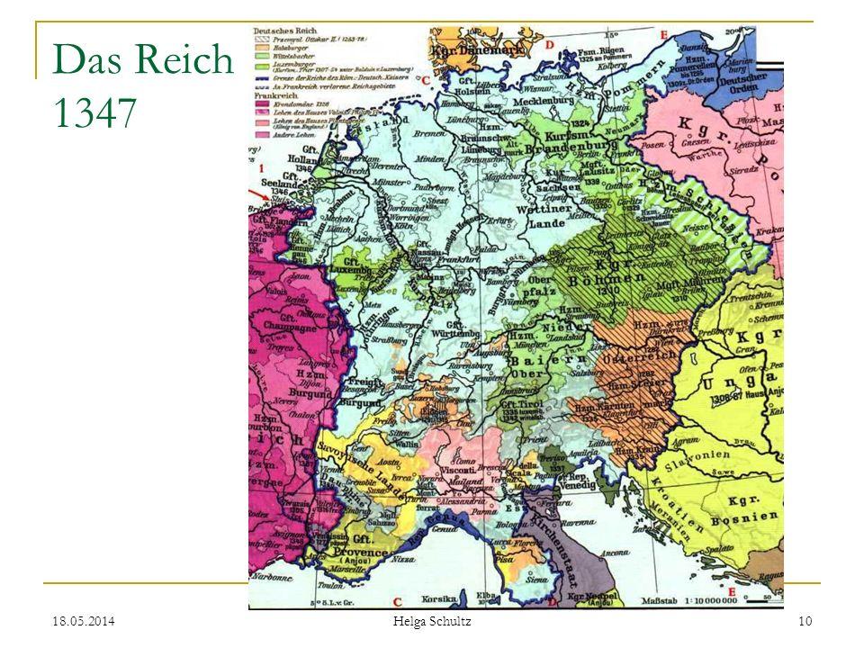 18.05.2014 Helga Schultz 10 Das Reich 1347