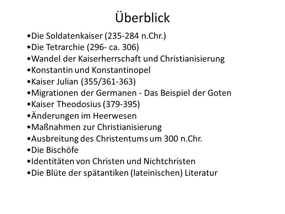 Odoaker (476-493) Theoderich ? allenfalls in seinen Anfängen