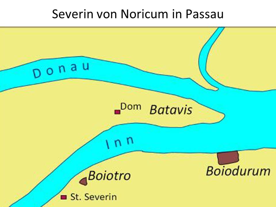 Severin von Noricum in Passau