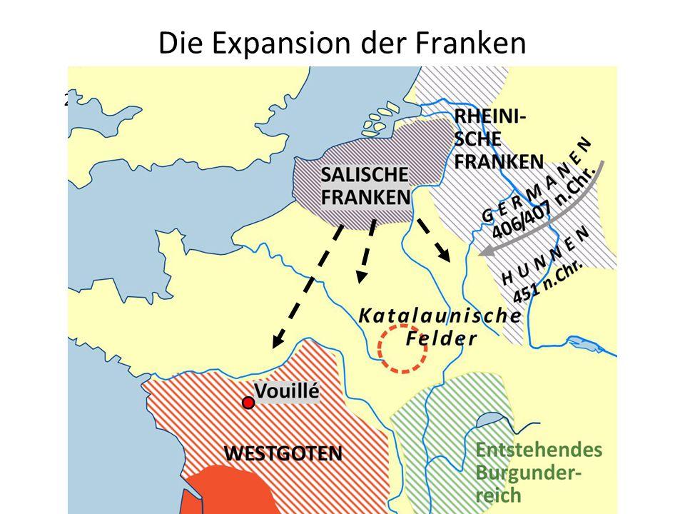 Die Expansion der Franken 28 Pkt.