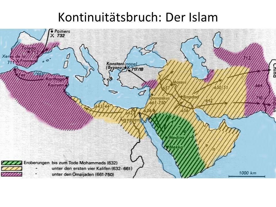Kontinuitätsbruch: Der Islam 28 Pkt.