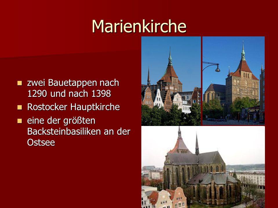 Stralsund – Die Perle an der Ostsee Hansestadt Stralsund, Alter Markt mit Rathaus und Nikolaikirche