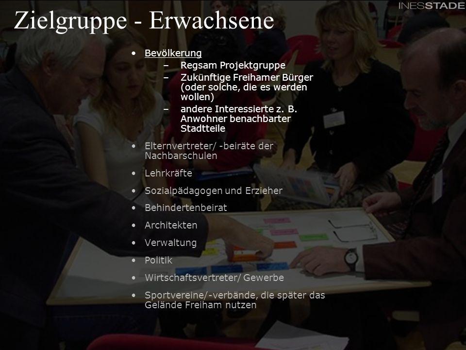Feinkonzept - Beteiligungskonferenzen für das Partizipationsprojekt Schulcampus Freiham Zielgruppe - Erwachsene Bevölkerung –Regsam Projektgruppe –Zuk