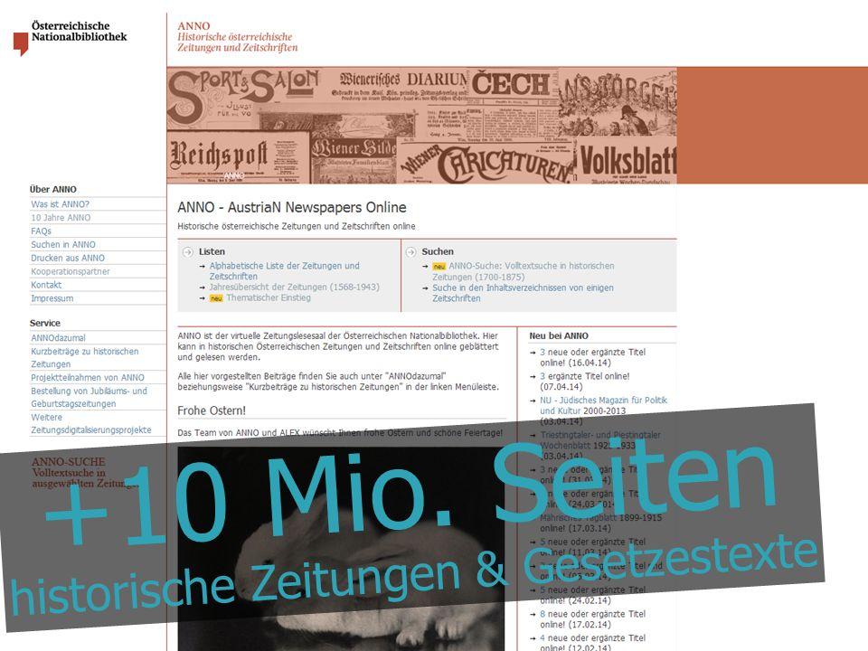 @maxkaiser +10 Mio. Seiten historische Zeitungen & Gesetzestexte