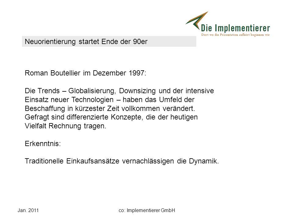 Jan. 2011co: Implementierer GmbH Roman Boutellier im Dezember 1997: Die Trends – Globalisierung, Downsizing und der intensive Einsatz neuer Technologi