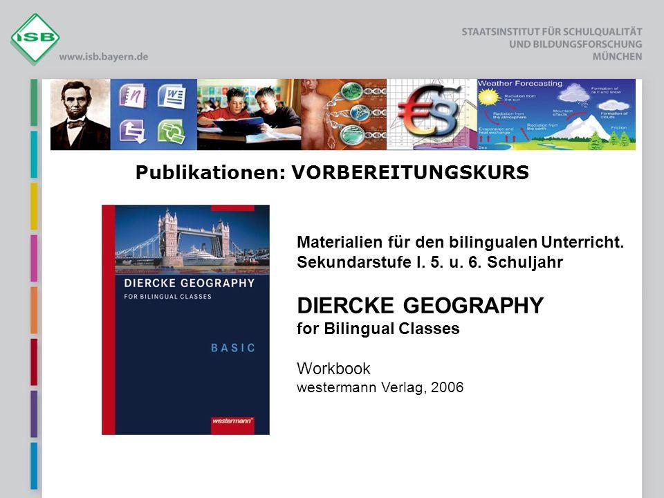 Publikationen: VORBEREITUNGSKURS Materialien für den bilingualen Unterricht.