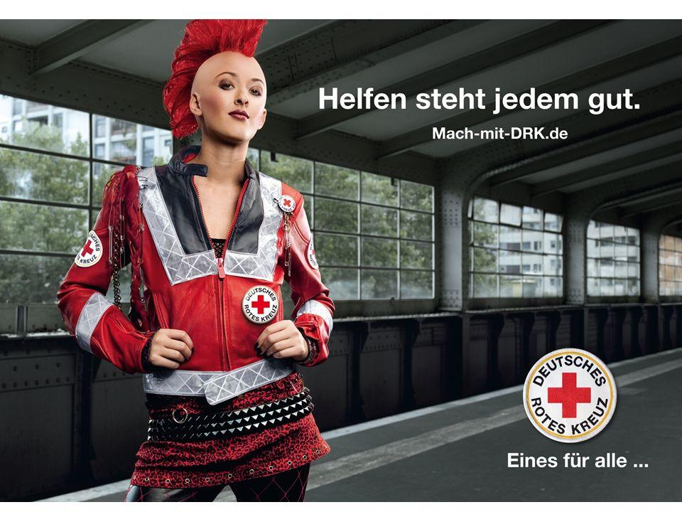 DRK Generalsekretariat Berlin Folie 8 BA Bereitschaften 10/2007 Eines für alle … – Finale bis Ende 2009 Großflächenplakate Citylights Werbemittel Fülleranzeigen