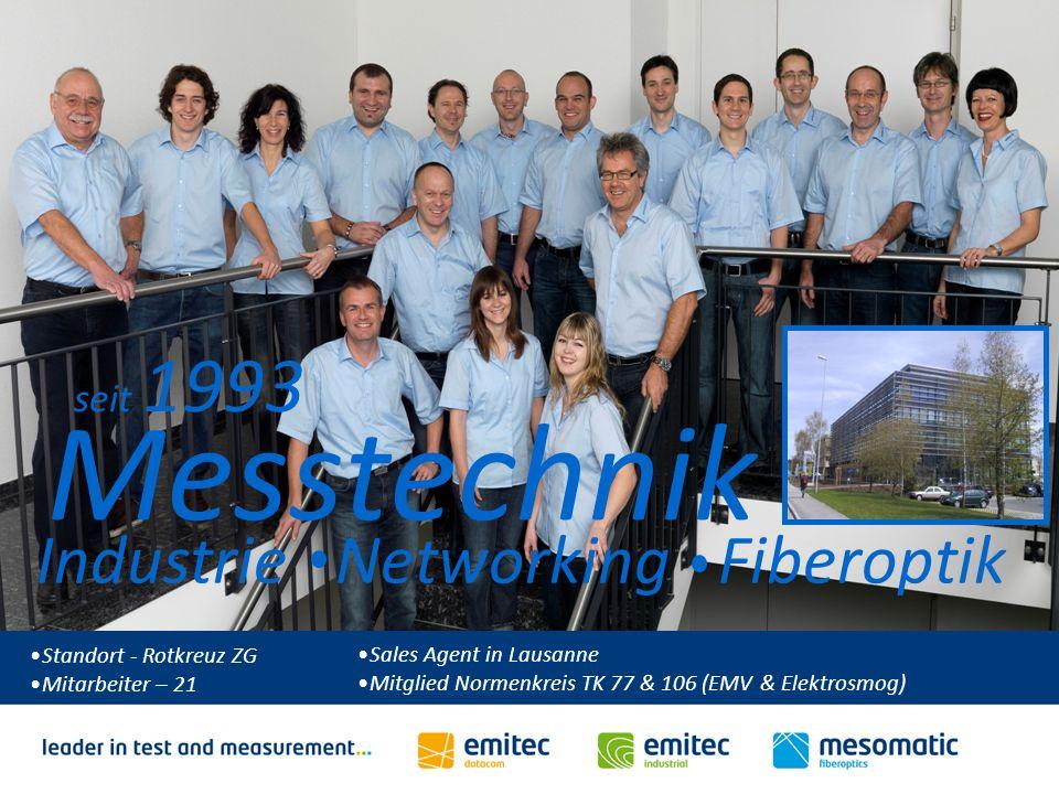 Herzlich Willkommen zum VSEI FTTH Kurs Standort - Rotkreuz ZG Mitarbeiter – 21 Messtechnik Industrie Networking Fiberoptik seit 1993 Sales Agent in La