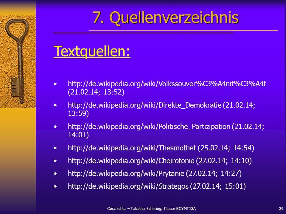 Geschichte – Tabatha Schüring, Klasse BGYMT13A29 Textquellen: http://de.wikipedia.org/wiki/Volkssouver%C3%A4nit%C3%A4t (21.02.14; 13:52) http://de.wik