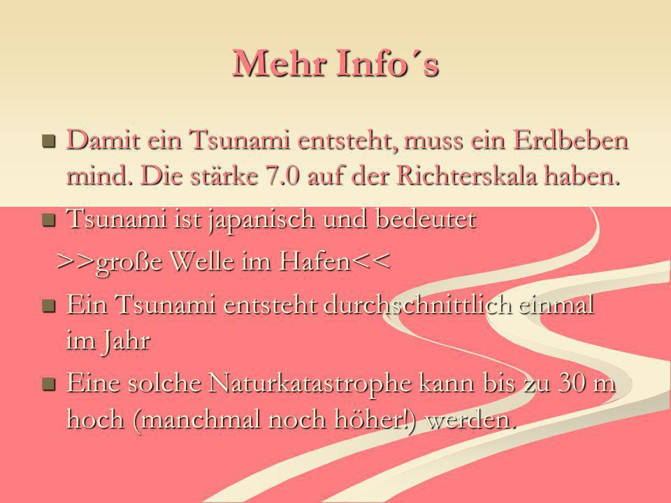 Quellen www.Wikipedia.de www.naturgewalten.de http://www.quarks.de/wellen/03.htm