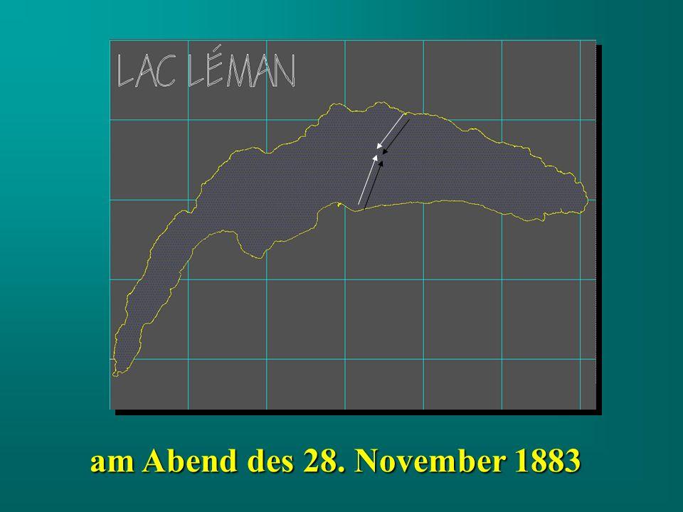 am Abend des 28. November 1883