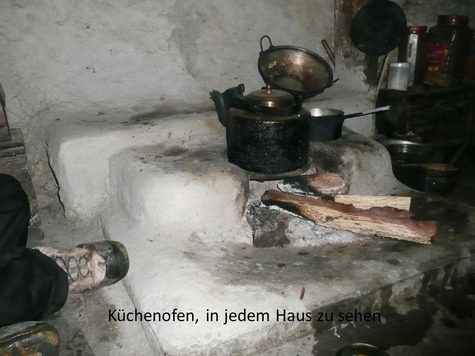 Küchenofen, in jedem Haus zu sehen