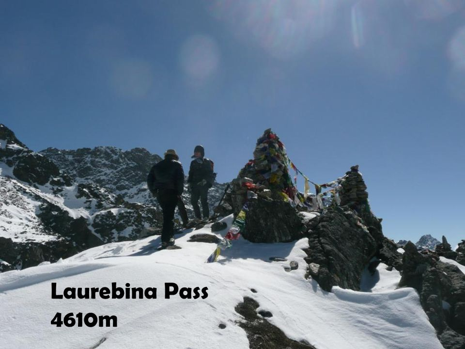 Laurebina Pass 4610m