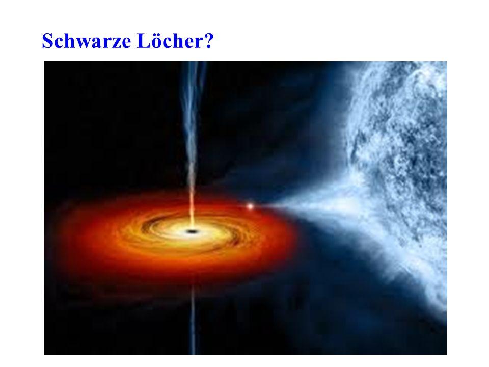 Schwarze Löcher?