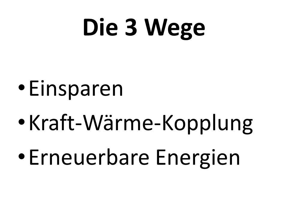 Instrumente Abrechnungsmodell für PV und BHKW durch Stadtwerke Stuttgart Zuschüsse für PV, Solarthermie, Pellets, Biogas Bildung (Energiedetektive an Schulen) Öffentlichkeitsarbeit Energiekonzept (Vision 2050)