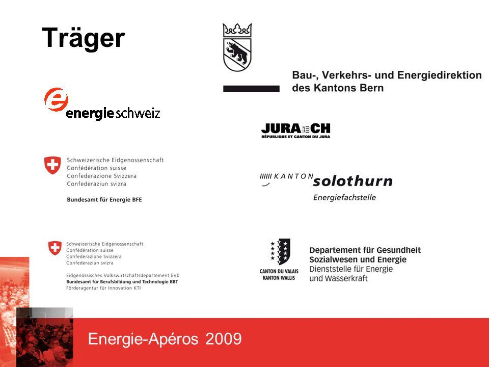 Energie-Apéros 2009 Herzlichen Dank unseren Sponsoren Hauptsponsoren Co-Sponsor