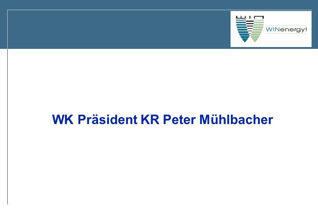 WK Präsident KR Peter Mühlbacher