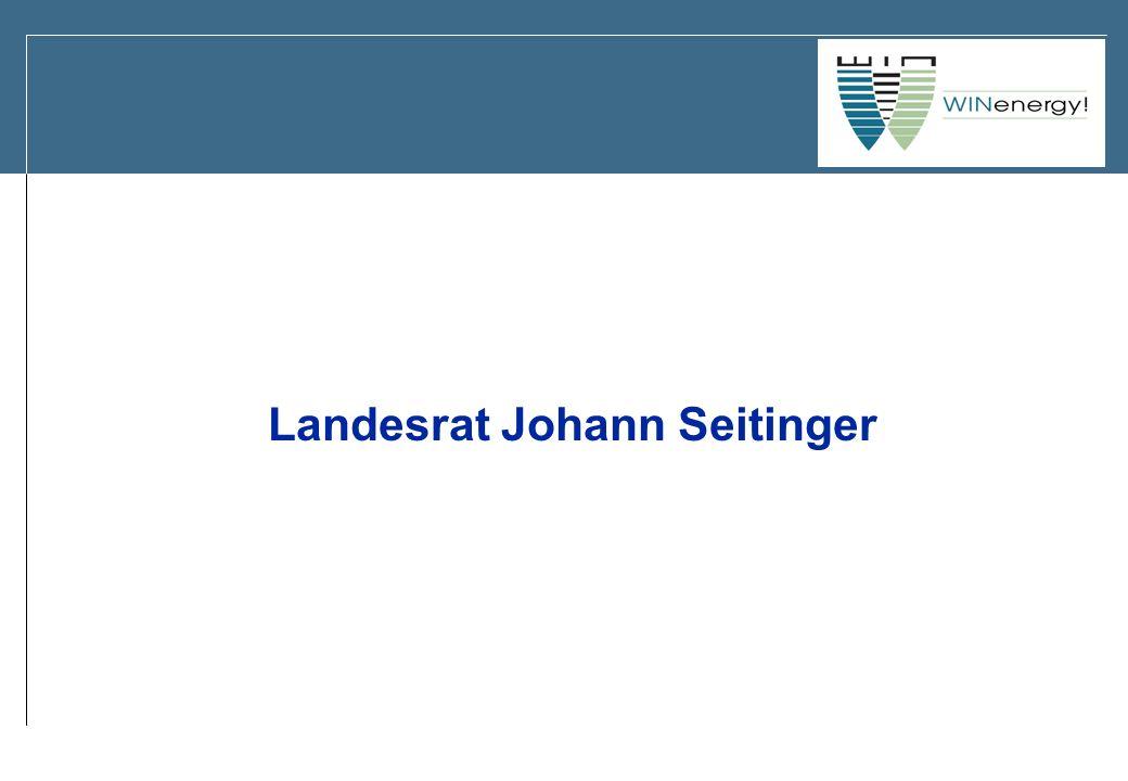 Landesrat Johann Seitinger