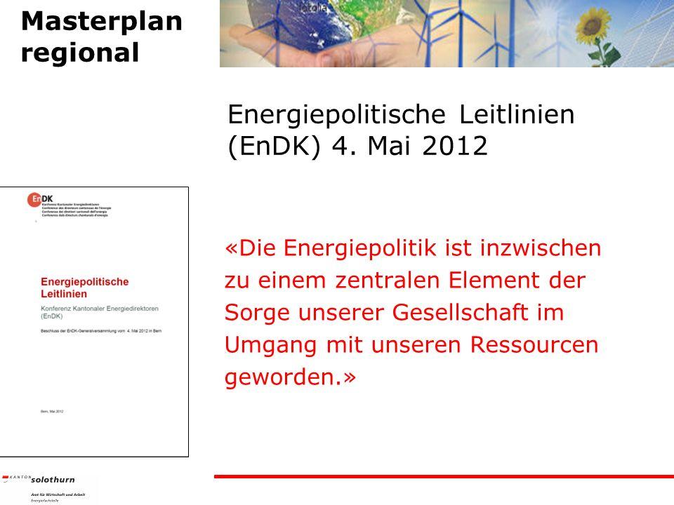 Energiepolitische Leitlinien (EnDK) 4.