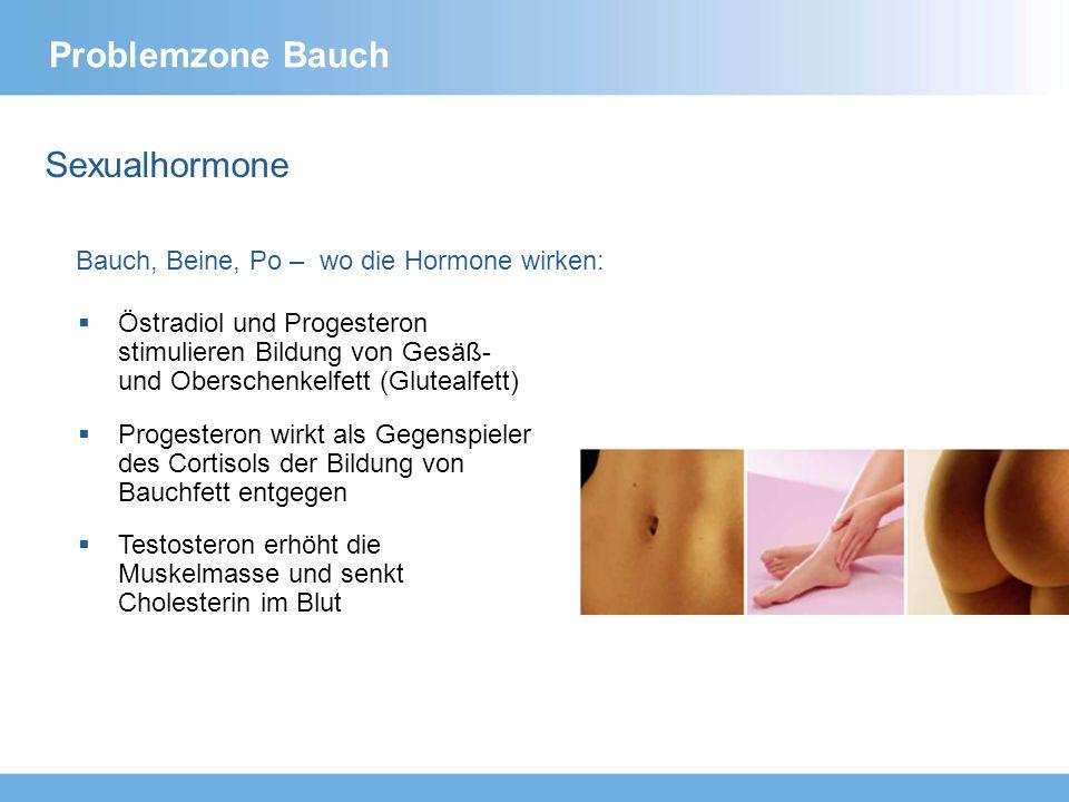 Problemzone Bauch Sexualhormone