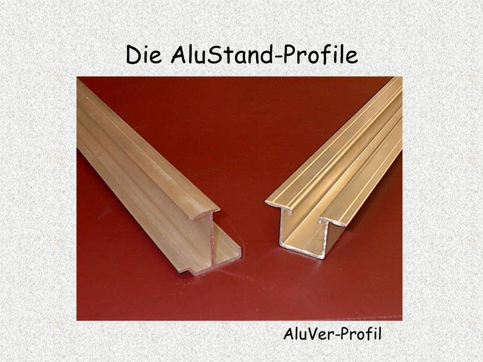 Die AluStand-Profile AluTec-Profil