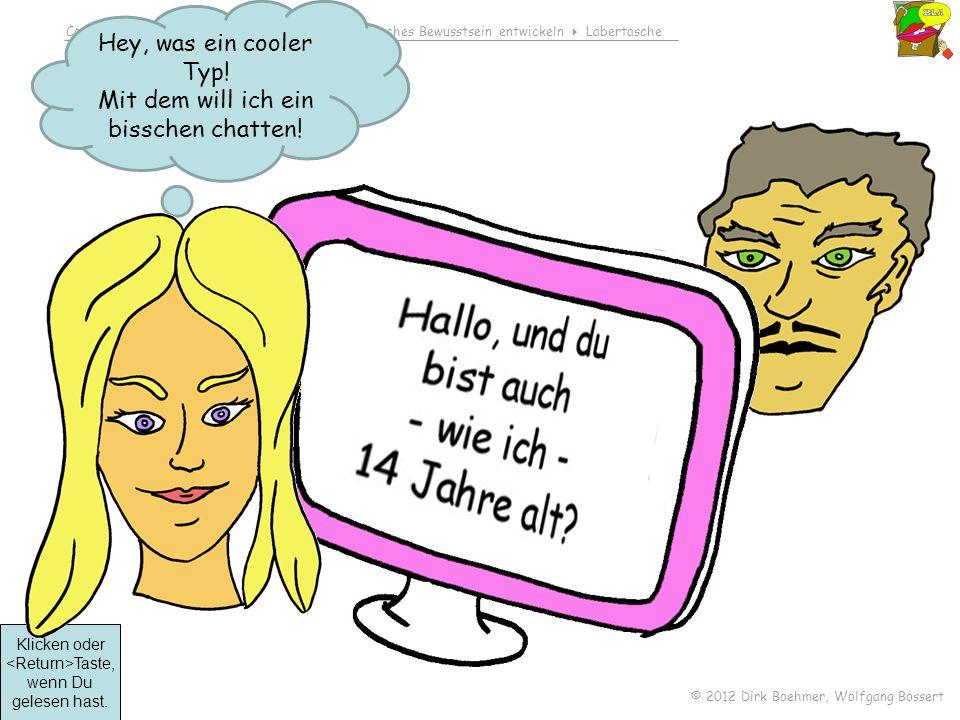 Comedison Inhalt rechtliche Aspekte ethisches Bewusstsein entwickeln Labertasche © 2012 Dirk Boehmer, Wolfgang Bossert Besprich den Fall in der Gruppe.