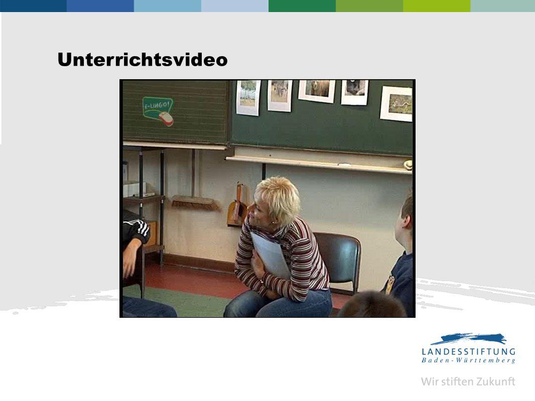 Unterrichtsvideo