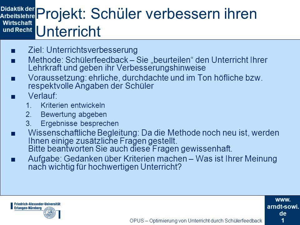 1 Didaktik der Arbeitslehre Wirtschaft und Recht www.